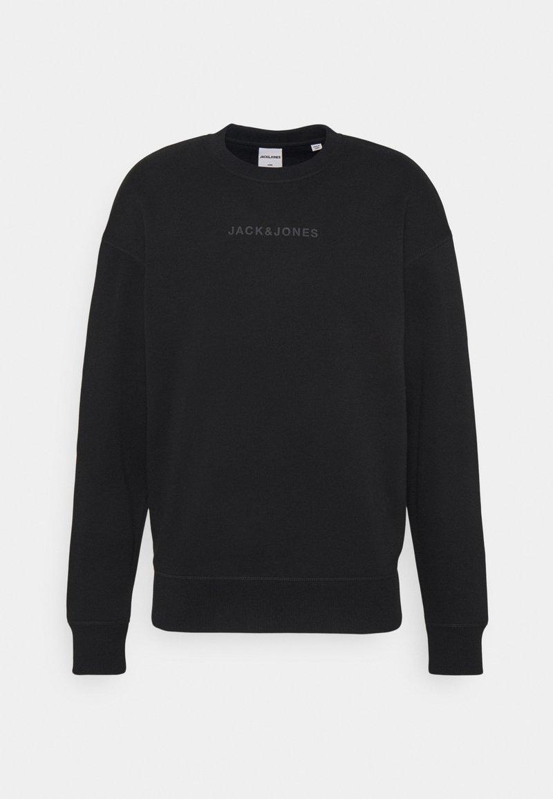 Jack & Jones - JCOMARCO CREW NECK - Sweatshirt - black