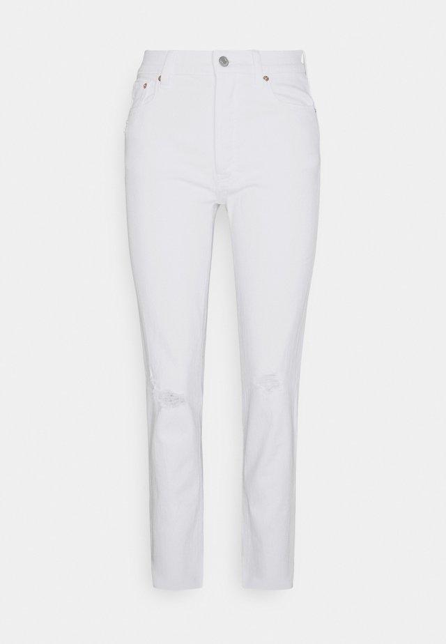 CHEEKY OPTIC - Slim fit jeans - white global