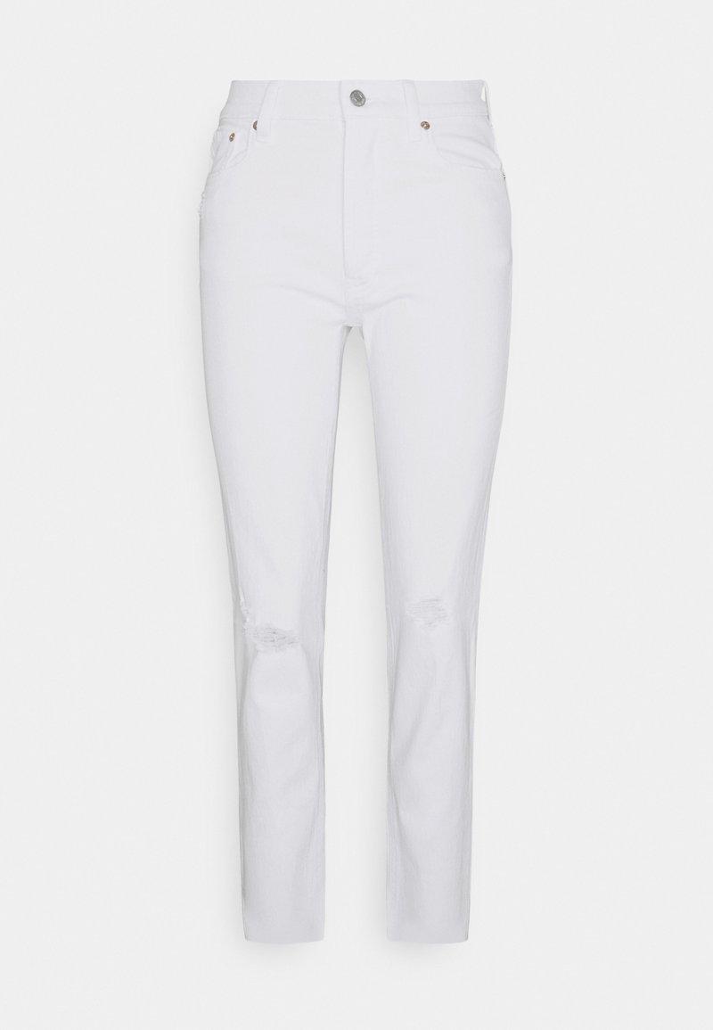 GAP - CHEEKY OPTIC - Jeans slim fit - white global