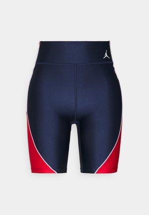 ESSEN LEG - Shorts - midnight navy/university red/white