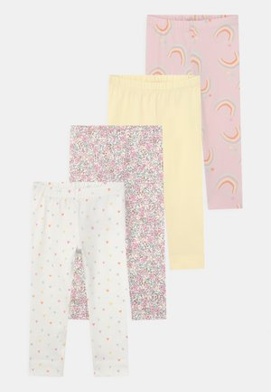 GIRLS 4 PACK - Leggings - Trousers - pale lilac