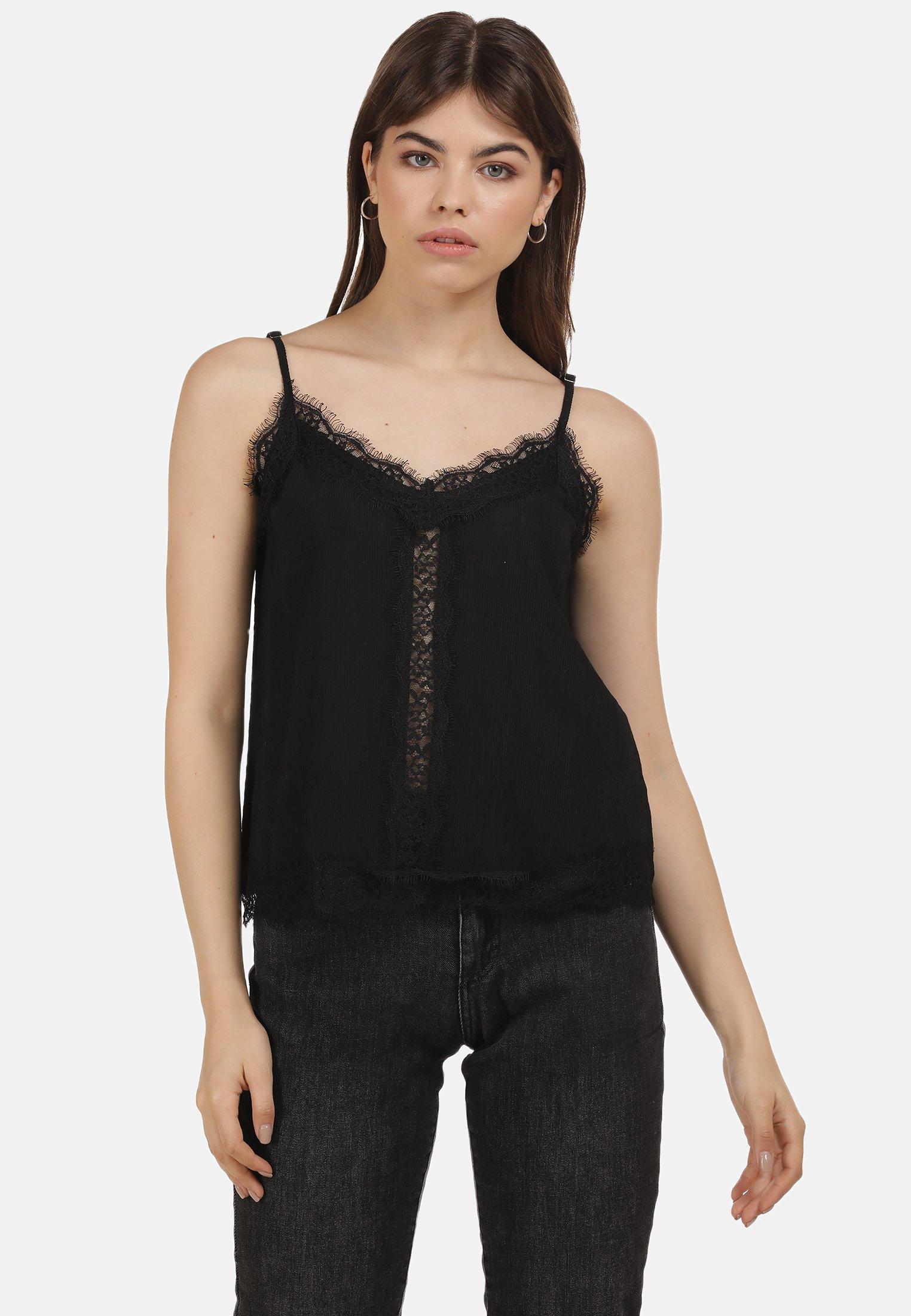 myMo Blouse - schwarz - Tops & T-shirts Femme 2vhYZ