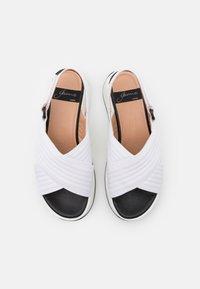Gaimo - PETUNIA - Platform sandals - blanco - 5
