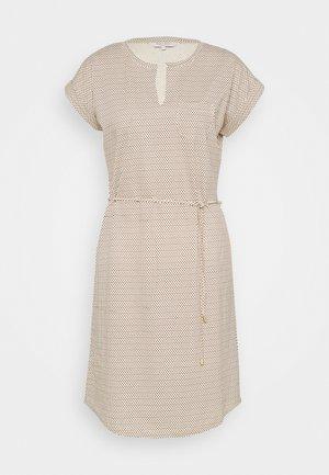 MABEL - Žerzejové šaty - choclat glaze