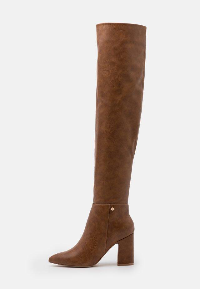 JOSEPHINE - Over-the-knee boots - tan