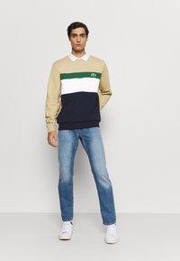 Lacoste - Sweatshirt - marine/farine vert viennois - 1