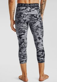 Under Armour - UA HG 3/4 PRINT  - Base layer - black - 1