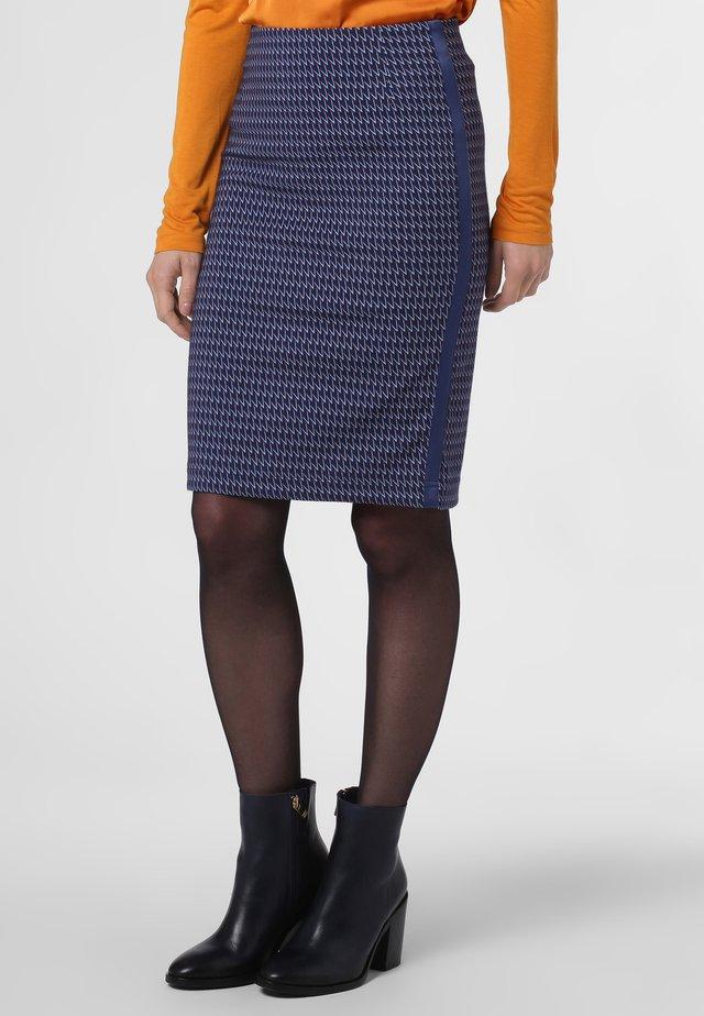 Pencil skirt - marine mehrfarbig