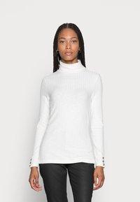 Esprit - HIGHNECK - Long sleeved top - off white - 0