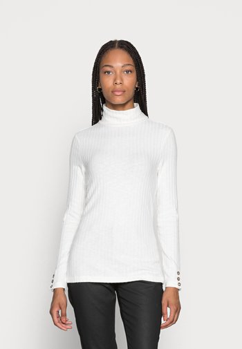 HIGHNECK - Long sleeved top - off white