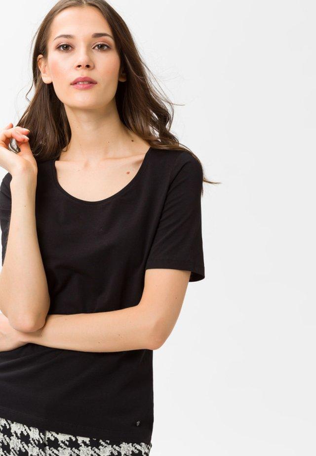 STYLE CORA - T-Shirt basic - black