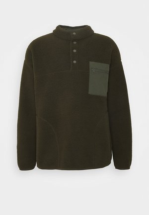 Fleece jumper - olive