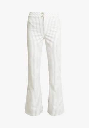 STYLE FLARED PANTS DODI - Trousers - white