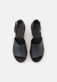 Felmini - MESHA - High heeled sandals - black - 5