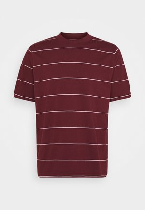 UTILITY RELAXED TEE - T-shirt con stampa - space stripe sassafras