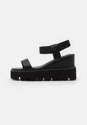 LAURY - High heeled sandals - black