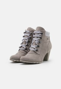s.Oliver - Ankle boots - grey - 2