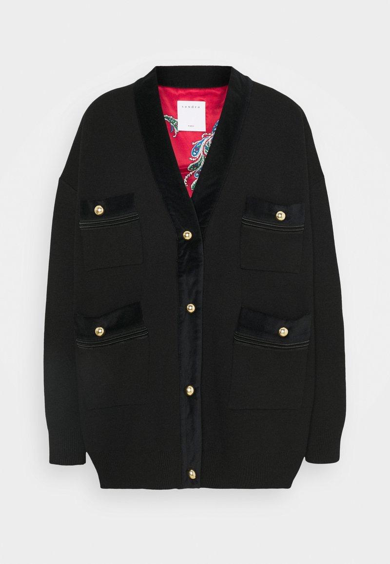 sandro - VIONEY - Short coat - noir