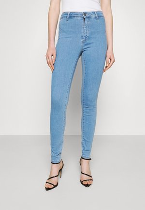 ONLBLUSH LIFE BOX - Skinny džíny - light blue denim