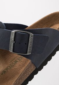 Birkenstock - MEDINA VEGA - T-bar sandals - matt navy - 5