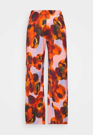 PIPETTE PANTS - Kalhoty - dark orange canned peaches