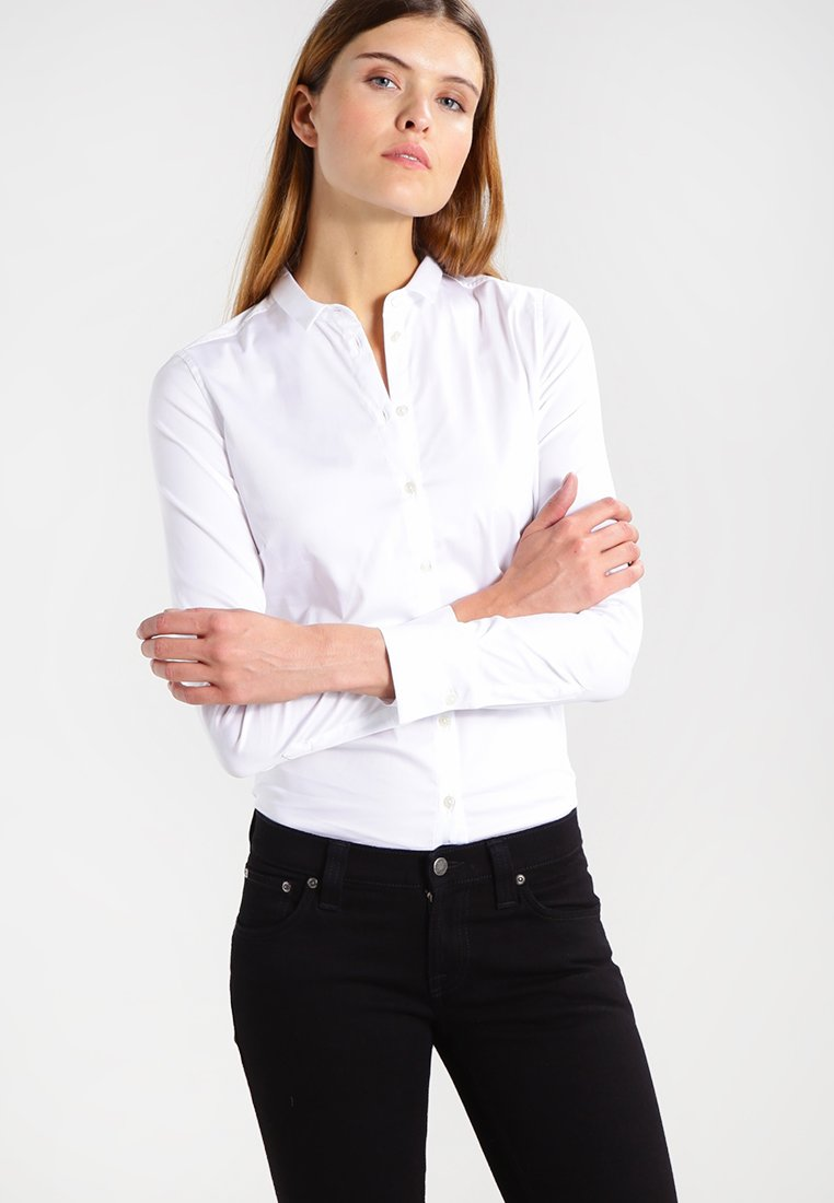 Mos Mosh - TILDA - Button-down blouse - white