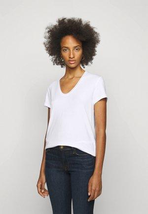 FEVIA - T-shirt basic - pure white
