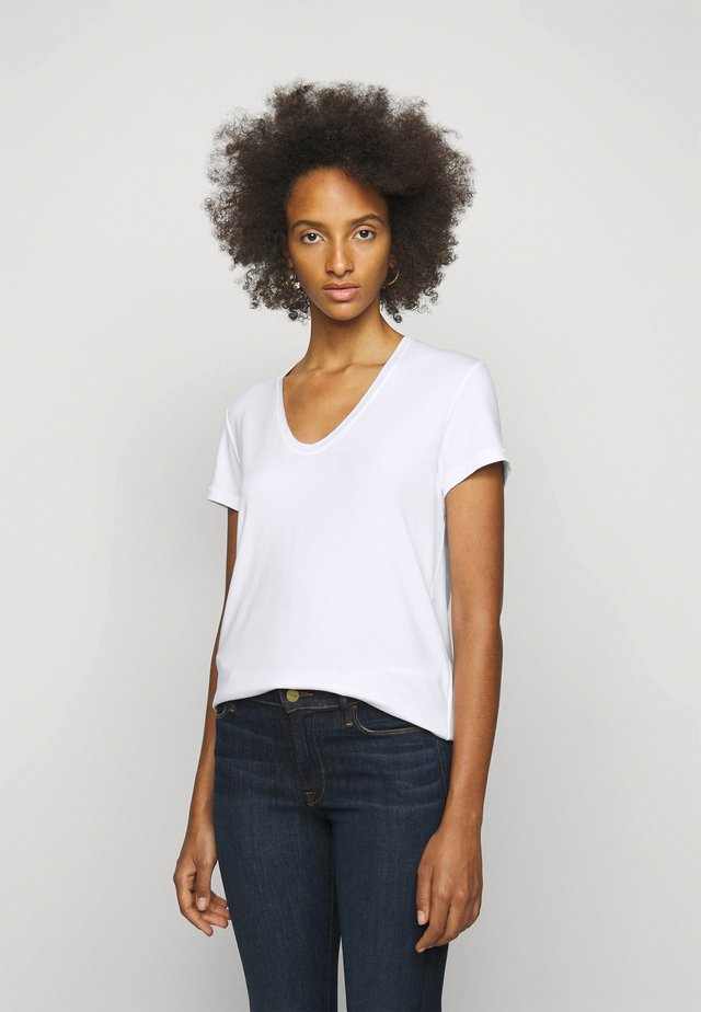 FEVIA - Jednoduché triko - pure white