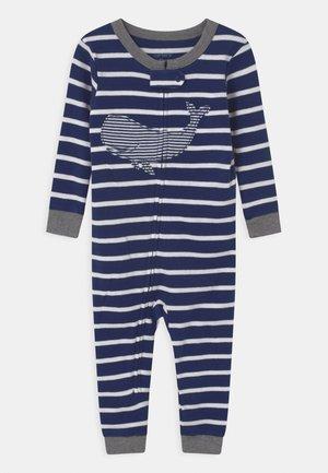 WHALE FOOTLESS - Pyžamo - dark blue