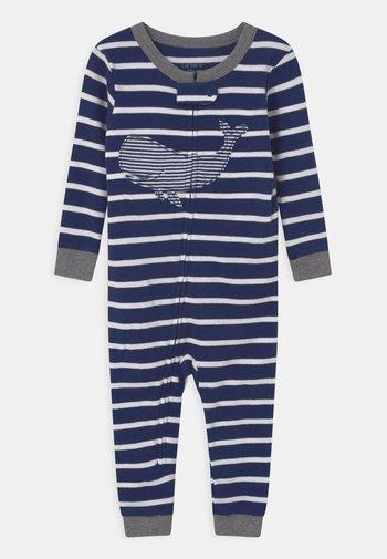 WHALE FOOTLESS - Pyjamas - dark blue
