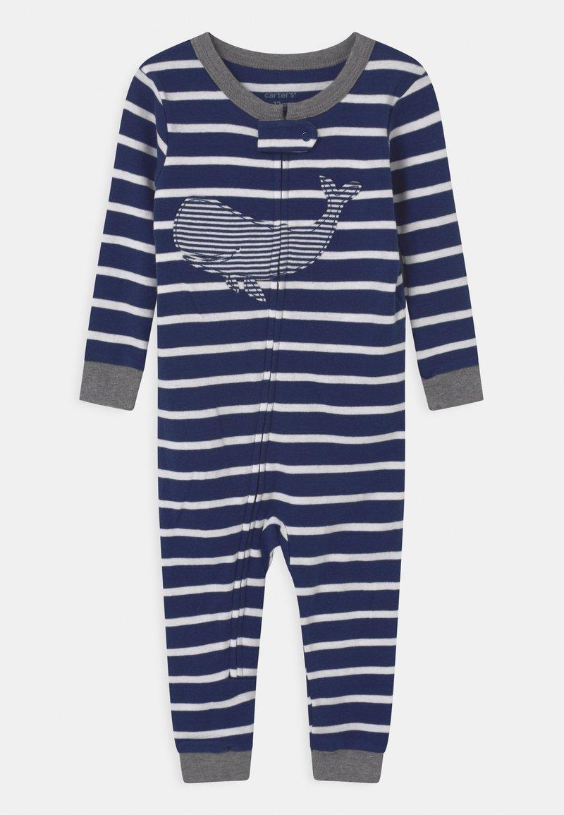 Carter's - WHALE FOOTLESS - Pyjamas - dark blue