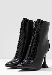 BEBO - KEONA - High heeled ankle boots - black - 4