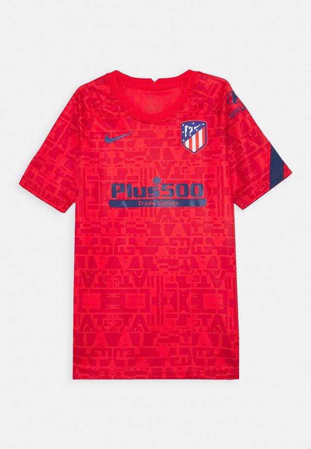 ATLETICO MADRID DRY UNISEX - Club wear - challenge red/coastal blue