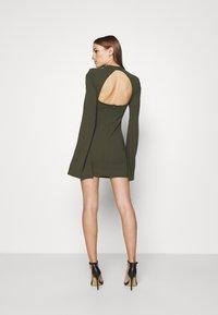 Mossman - THE SENSE OF MYSTERY DRESS - Jersey dress - khaki - 2