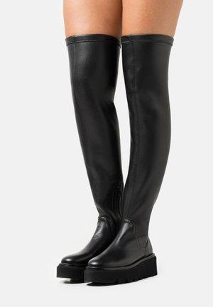 GRENORA - Platform boots - black