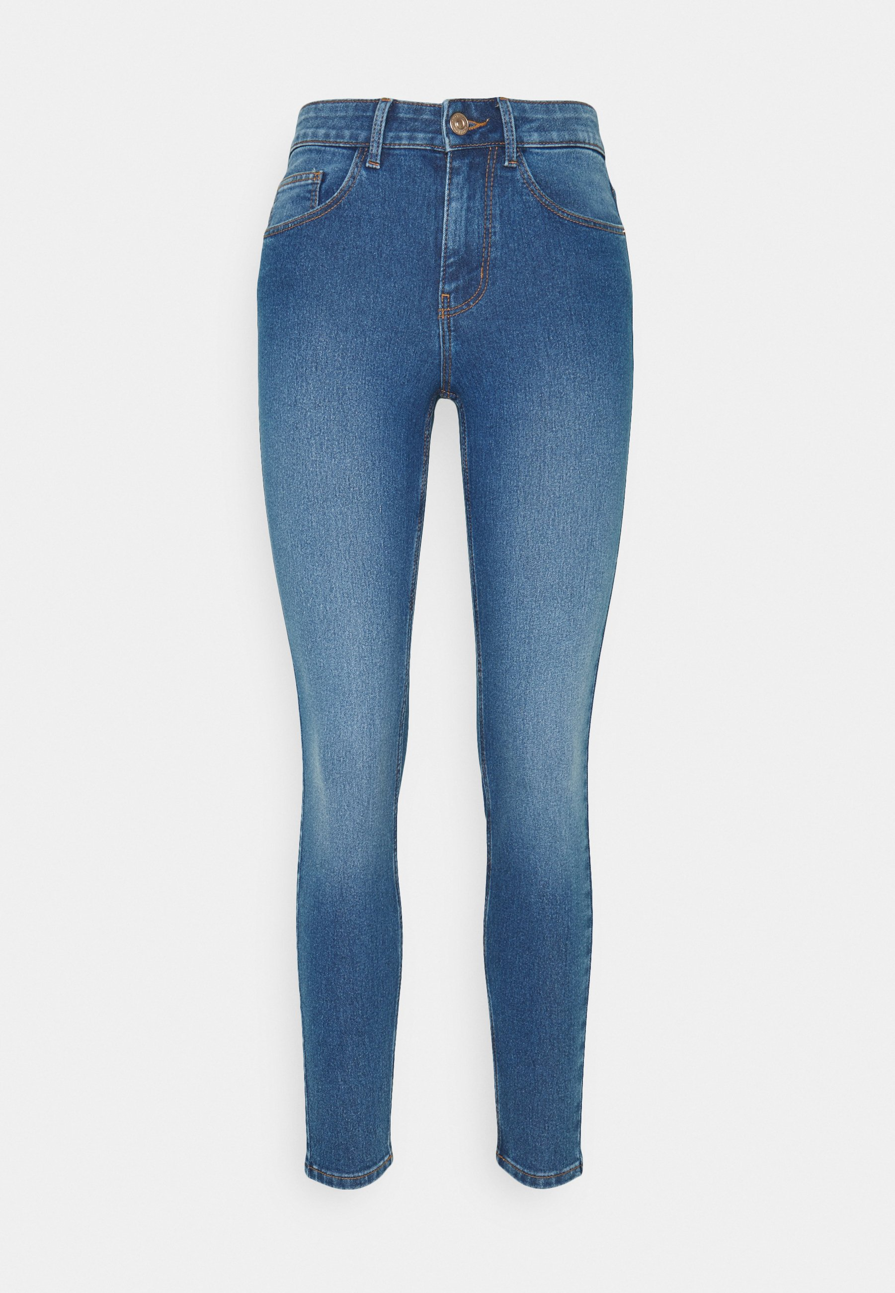 Women PCPEGGY MID WAIST - Jeans Skinny Fit
