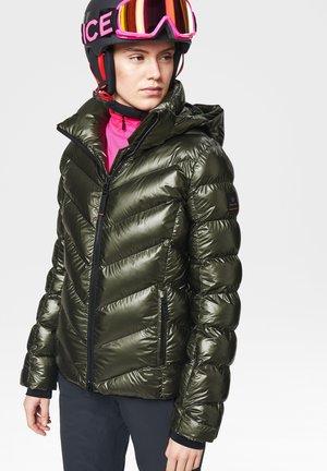 Down jacket - olivgrün