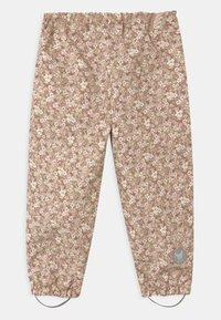 Wheat - OUTDOOR ROBIN UNISEX - Rain trousers - rose - 1