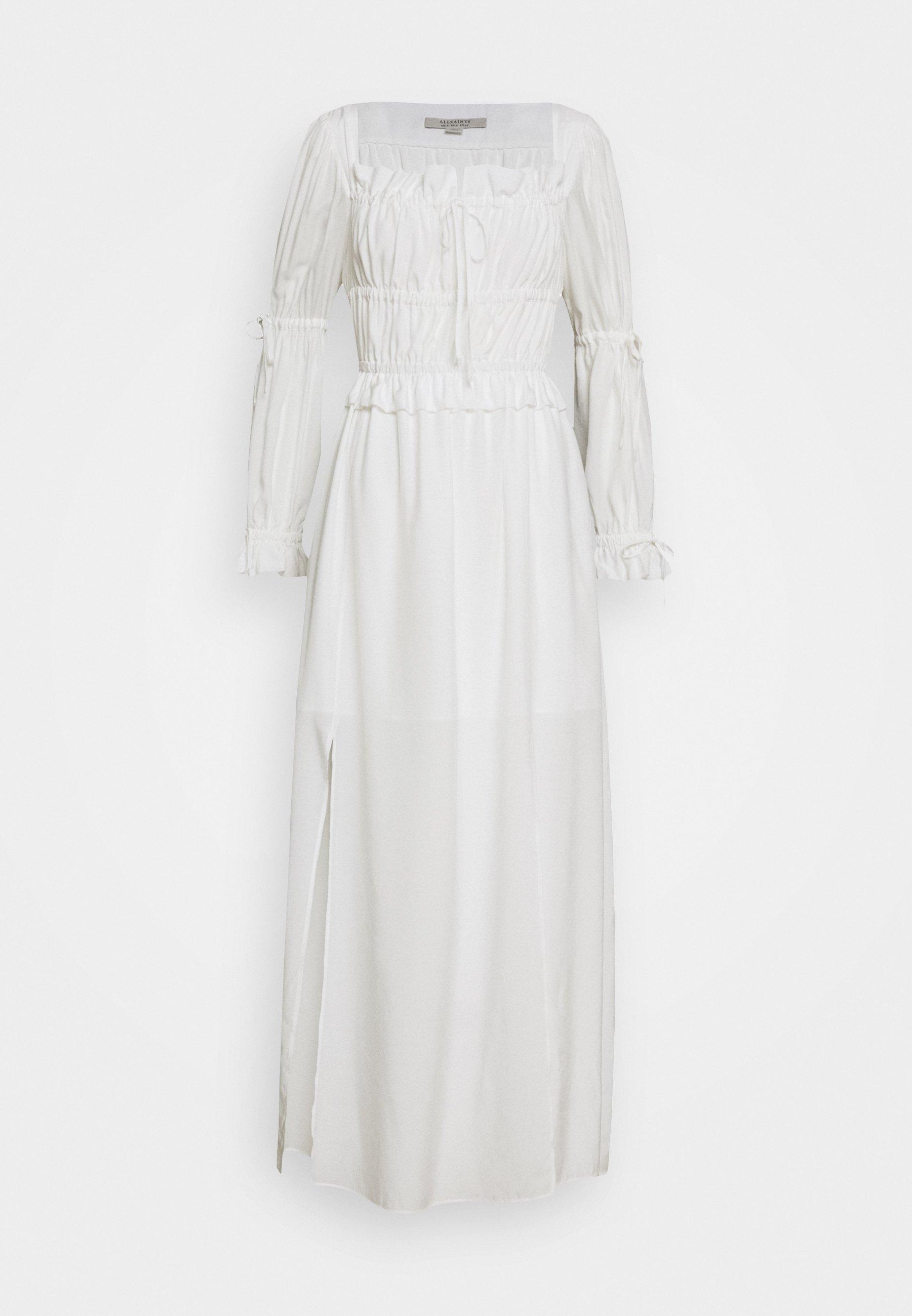 AllSaints KIMI DRESS - Maxikjole - chalk white