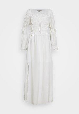KIMI DRESS - Maxi šaty - chalk white