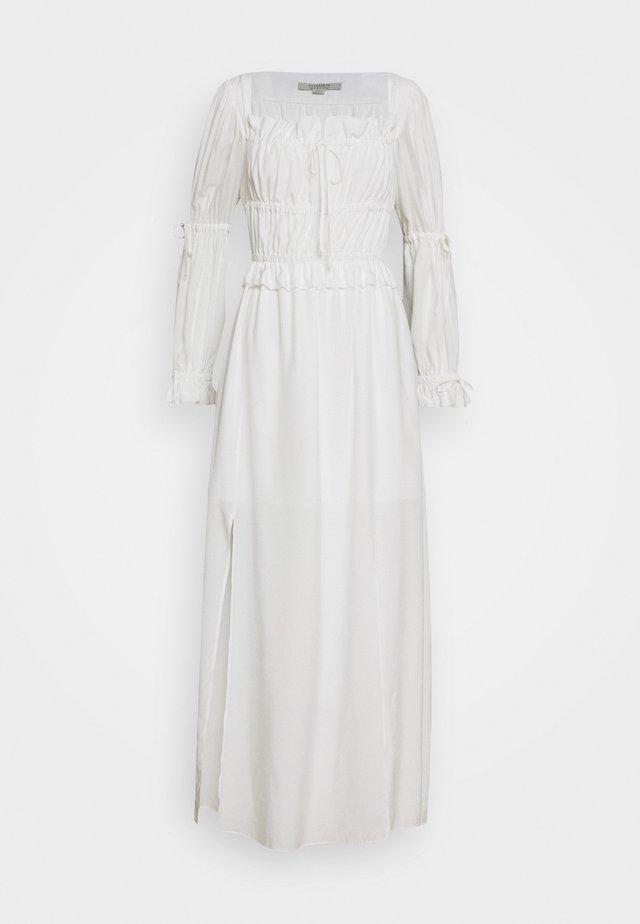KIMI DRESS - Maxikjole - chalk white