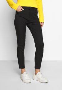 Tommy Hilfiger - GABARDINE PANT - Trousers - black - 0