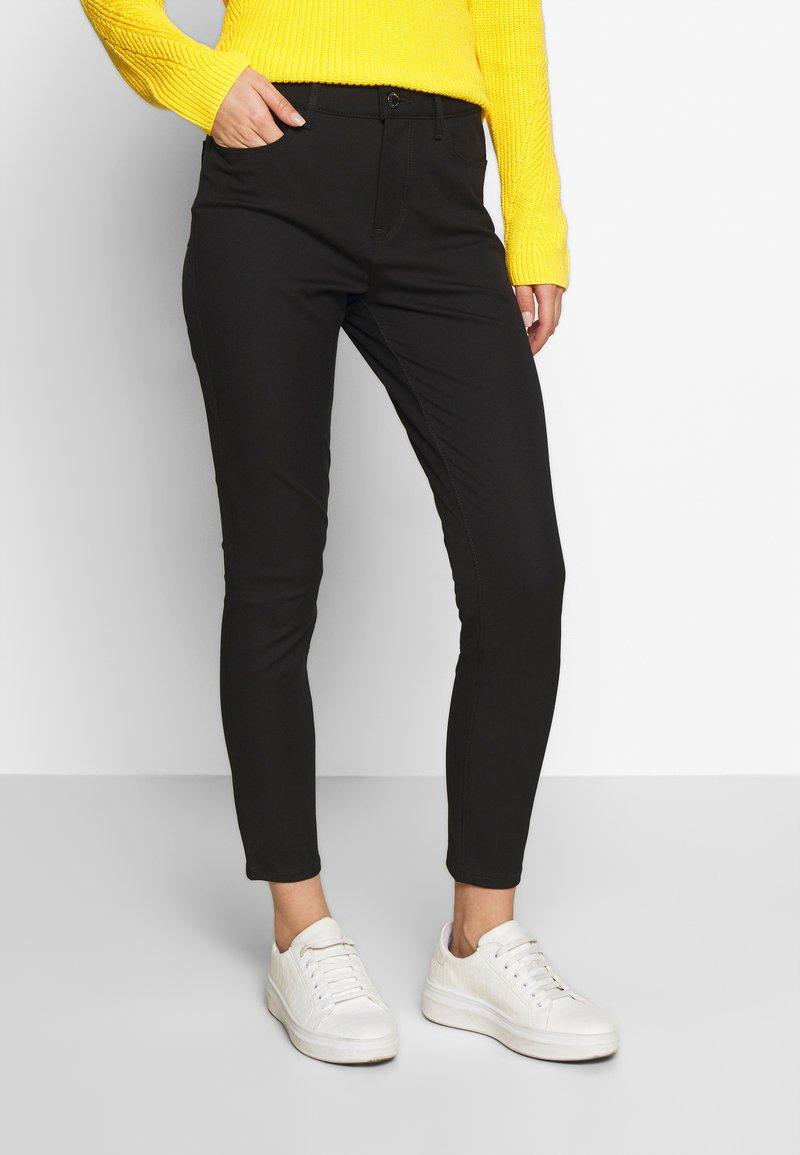 Tommy Hilfiger - GABARDINE PANT - Trousers - black