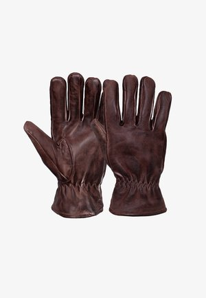 MIT OIL FINISH - Gloves - braun