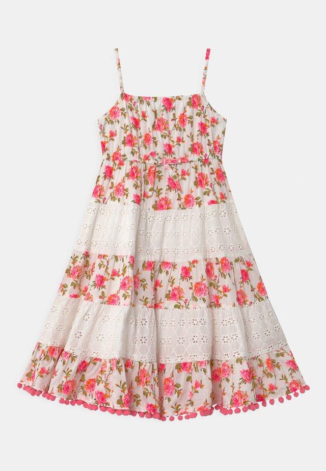 Denní šaty - neon pink