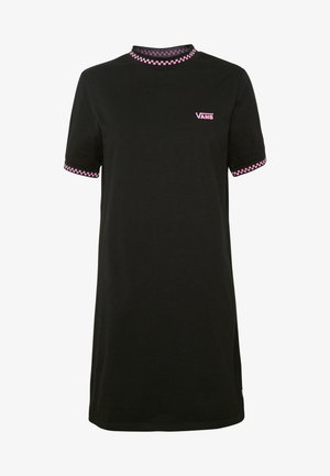 ALL STAKES DRESS - Sukienka z dżerseju - black