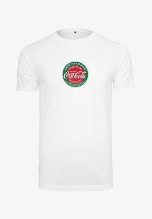 COCA COLA RETRO TEE - Print T-shirt - white