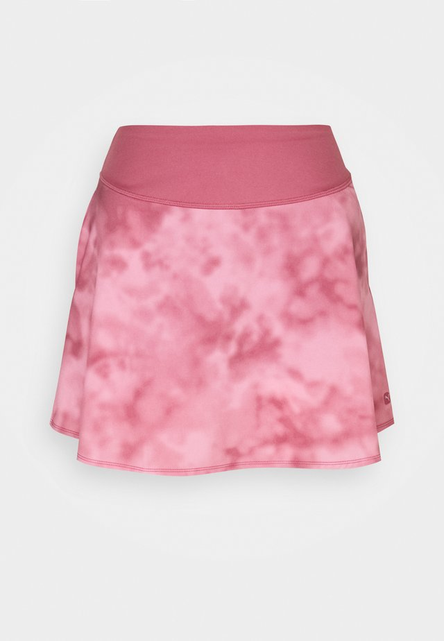 TIE DYE SKIRT - Jupe de sport - rose wine