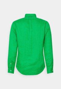 Polo Ralph Lauren - SLIM FIT LINEN SHIRT - Shirt - golf green - 7
