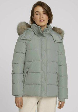 Winter jacket - soft greyish green